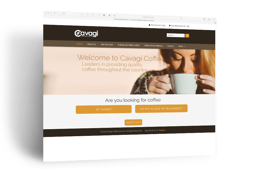 Cavagi Coffee Service