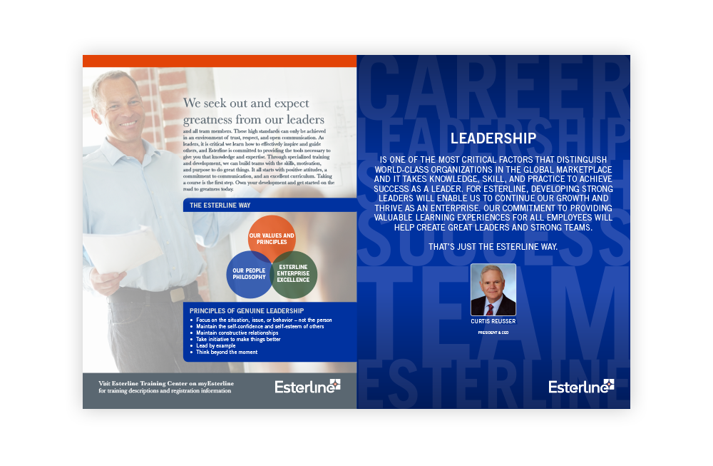 Esterline Leadership Brochure
